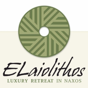logo of ELaiolithos luxury retreat in Naxos